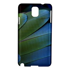 Feather Parrot Colorful Metalic Samsung Galaxy Note 3 N9005 Hardshell Case