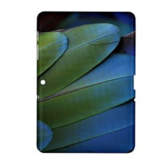 Feather Parrot Colorful Metalic Samsung Galaxy Tab 2 (10 1 ) P5100 Hardshell Case
