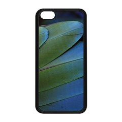 Feather Parrot Colorful Metalic Apple Iphone 5c Seamless Case (black)