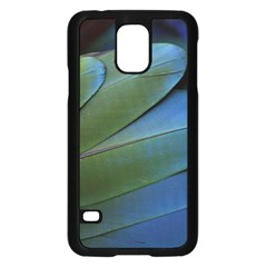 Feather Parrot Colorful Metalic Samsung Galaxy S5 Case (black)