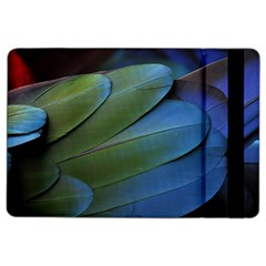 Feather Parrot Colorful Metalic Ipad Air 2 Flip