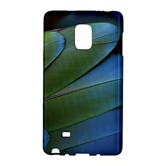 Feather Parrot Colorful Metalic Galaxy Note Edge