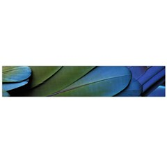 Feather Parrot Colorful Metalic Flano Scarf (Large)