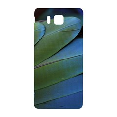 Feather Parrot Colorful Metalic Samsung Galaxy Alpha Hardshell Back Case