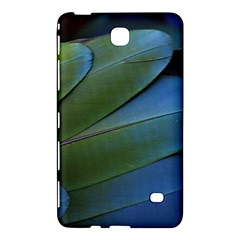 Feather Parrot Colorful Metalic Samsung Galaxy Tab 4 (8 ) Hardshell Case