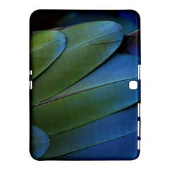 Feather Parrot Colorful Metalic Samsung Galaxy Tab 4 (10 1 ) Hardshell Case