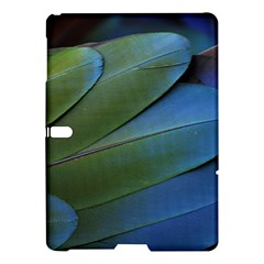 Feather Parrot Colorful Metalic Samsung Galaxy Tab S (10 5 ) Hardshell Case