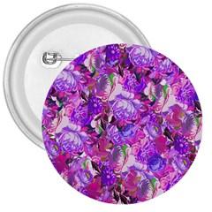 Flowers Abstract Digital Art 3  Buttons