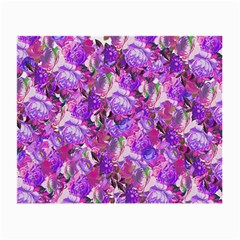 Flowers Abstract Digital Art Small Glasses Cloth (2 Side)