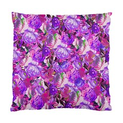 Flowers Abstract Digital Art Standard Cushion Case (one Side)