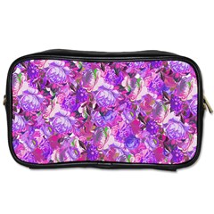 Flowers Abstract Digital Art Toiletries Bags