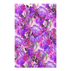 Flowers Abstract Digital Art Shower Curtain 48  x 72  (Small)