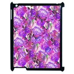 Flowers Abstract Digital Art Apple Ipad 2 Case (black)