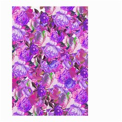 Flowers Abstract Digital Art Small Garden Flag (two Sides)
