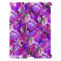Flowers Abstract Digital Art Apple Ipad 3/4 Hardshell Case (compatible With Smart Cover)