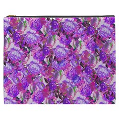 Flowers Abstract Digital Art Cosmetic Bag (xxxl)
