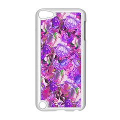 Flowers Abstract Digital Art Apple Ipod Touch 5 Case (white)