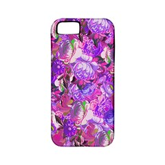 Flowers Abstract Digital Art Apple Iphone 5 Classic Hardshell Case (pc+silicone)