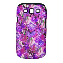 Flowers Abstract Digital Art Samsung Galaxy S Iii Classic Hardshell Case (pc+silicone)