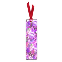 Flowers Abstract Digital Art Small Book Marks