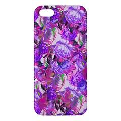 Flowers Abstract Digital Art Apple Iphone 5 Premium Hardshell Case