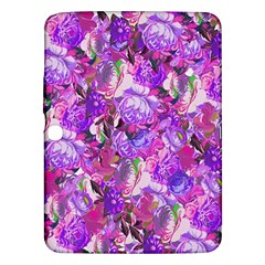Flowers Abstract Digital Art Samsung Galaxy Tab 3 (10 1 ) P5200 Hardshell Case