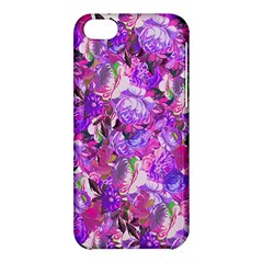 Flowers Abstract Digital Art Apple Iphone 5c Hardshell Case