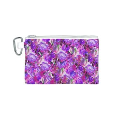 Flowers Abstract Digital Art Canvas Cosmetic Bag (s)
