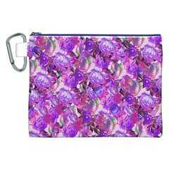 Flowers Abstract Digital Art Canvas Cosmetic Bag (xxl)