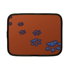 Footprints Paw Animal Track Foot Netbook Case (small)