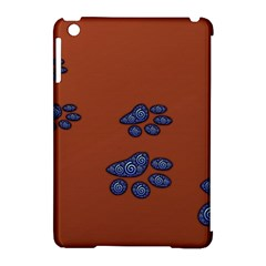 Footprints Paw Animal Track Foot Apple Ipad Mini Hardshell Case (compatible With Smart Cover)