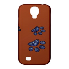 Footprints Paw Animal Track Foot Samsung Galaxy S4 Classic Hardshell Case (pc+silicone)