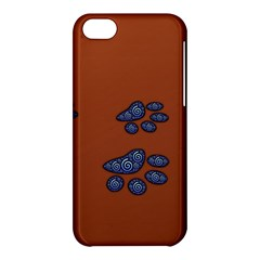 Footprints Paw Animal Track Foot Apple Iphone 5c Hardshell Case