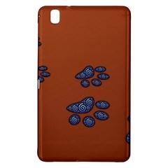 Footprints Paw Animal Track Foot Samsung Galaxy Tab Pro 8 4 Hardshell Case