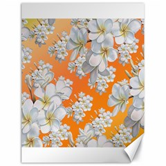 Flowers Background Backdrop Floral Canvas 18  X 24