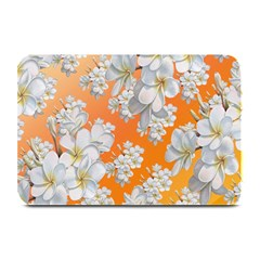 Flowers Background Backdrop Floral Plate Mats