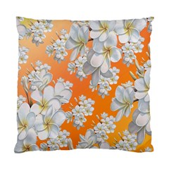Flowers Background Backdrop Floral Standard Cushion Case (Two Sides)