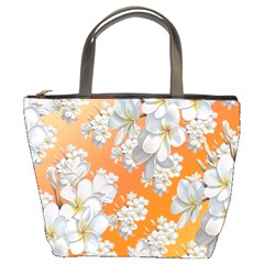 Flowers Background Backdrop Floral Bucket Bags