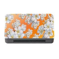 Flowers Background Backdrop Floral Memory Card Reader With Cf