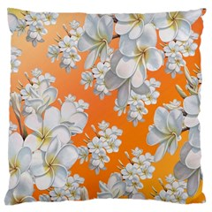 Flowers Background Backdrop Floral Large Cushion Case (one Side)