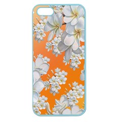 Flowers Background Backdrop Floral Apple Seamless iPhone 5 Case (Color)