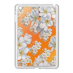 Flowers Background Backdrop Floral Apple Ipad Mini Case (white)