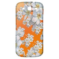 Flowers Background Backdrop Floral Samsung Galaxy S3 S Iii Classic Hardshell Back Case