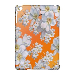 Flowers Background Backdrop Floral Apple Ipad Mini Hardshell Case (compatible With Smart Cover)