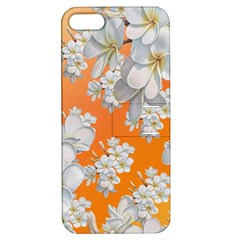 Flowers Background Backdrop Floral Apple Iphone 5 Hardshell Case With Stand