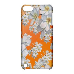 Flowers Background Backdrop Floral Apple Ipod Touch 5 Hardshell Case With Stand
