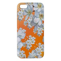 Flowers Background Backdrop Floral Apple Iphone 5 Premium Hardshell Case