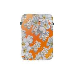 Flowers Background Backdrop Floral Apple Ipad Mini Protective Soft Cases
