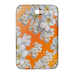 Flowers Background Backdrop Floral Samsung Galaxy Note 8 0 N5100 Hardshell Case