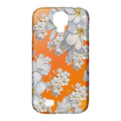 Flowers Background Backdrop Floral Samsung Galaxy S4 Classic Hardshell Case (pc+silicone)